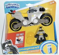 Fisher Price Imaginext Dc Super Friends Batman And Batcycle Collection Boys Gift