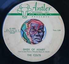 HEAR Colts 45 Shiek of Araby/Never No More ANTLER 4003 doo wop R&B ORIGINAL