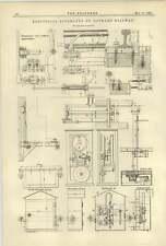 1884 Electrical Apparatus St Gothard Railway