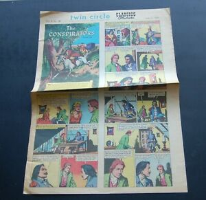 June 21 1970 Classic Illustrated Newspaper Comic Sect. Vol 4 #25  Conspirators