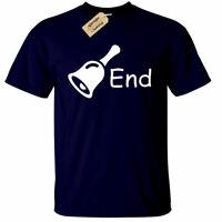 Bell End Funny Rude Joke Humour offensive T-Shirt Mens Novelty tee