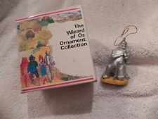 "Wizard of Oz ""The Tin Man"" Christmas Ornament  # 020-03 1989 Turner Enterp."