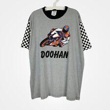 Vintage 90s Mick Doohan Honda Repsol Tee T - Shirt Moto GP 500cc