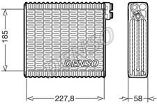 DENSO DEV09011 Verdampfer, Klimaanlage für FIAT