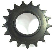 "BASIC BLACK 16T COG Good Hardened Steel Fixed Gear Track 3/32"" FREE USA SHIPPING"
