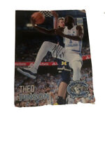 THEO PINSON UNC SIGNED 8X10 UNC TAR HEEL NATIONAL CHAMPION 2017 PHOTO