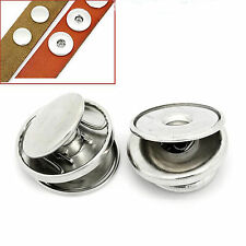 Make your own 18mm snap / chunk buttons - 3 part aluminium findings -