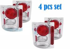 HOLIDAY RAMBLER ADMIRAL 2002 2003 CHROME TAILLIGHTS TAIL LIGHTS LAMPS RV