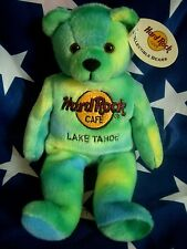 HRC Hard Rock Cafe Lake Tahoe Monty Bear Beara Bär Teddy Herrington LE