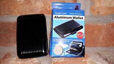 Security Credit Card Wallet RFID Scanner Blocker Aluminum Construction Wallet pa
