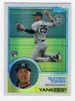 2018 Topps 1983 Silver Pack Gleyber Torres RC Card #147 (New York Yankees) MT+