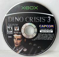 Dino Crisis 3 (Microsoft Original Xbox, 2003) Game Disc Disk Only Tested Rare