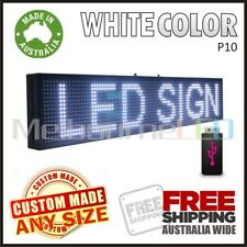 LED SIGN  White Scrolling Programmable Moving Message Window Display 670x190