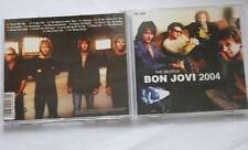 """RARE BON JOVI UNOFFICIAL CD """"THE BEST OF 2004"""" (BOOTLEG)"""