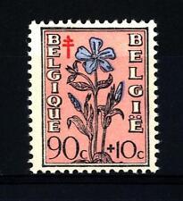 """BELGIUM - BELGIO - 1949 - Fiori e """"Ritratti del Senato"""""""