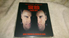 Face/Off BluRay BLUFANS Exclusive No.5 Deboss Steelbook+Slip New&Seal-2000 Only