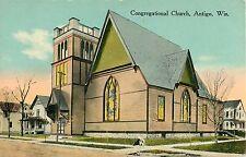 A Closeup View of the Congregational Church, Antigo WI