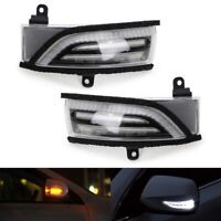 For Subaru Sequential Dynamic LED Side Mirror Blinker Lights