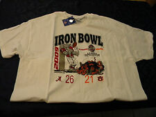 2009 Iron Bowl T-Shirt Alabama 26, Auburn 21 with tags, Excellent Condition