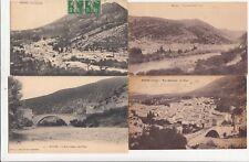 Lot 4 cartes postales anciennes DRÔME NYONS 2