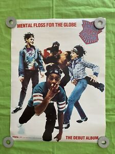 Urban Dance Squad POSTER 1990 Mental Floss For The Globe 22x17