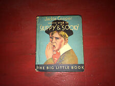 1933 Whitman Publishing Jackie Cooper Movie Star of Skippy & Sooky LBB