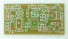 King Of Tone PCB overdrive for DIY guitar effect pedal