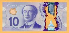 Canada $10 Dollars 2013 BC-70b P-107b Macklem-Poloz UNC FTN Prefix Banknote
