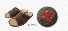 Mens Real Leather Slippers*GENUINE EU PRODUCT*size 6,7,8,9,10,11,12