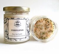 Purification Soy Candle Negative People Places Purifies Cleanses Banishes Energy