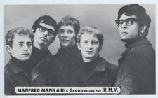 1960'S MUSIC SHOP PROMO CARD MANFRED MANN & HIS GROUP HMV RECORDS ADELAIDE L647