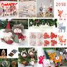 Lots Christmas Santa Claus Snowman Ornament Festival Party Xmas Table Decor Doll