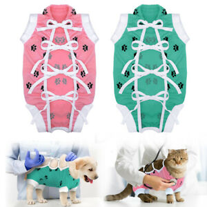 Dog Surgery Clothes Medical Pet Clothing Vest Surgery Dog Shirt Surgical Suit
