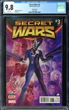 SECRET WARS (2015) #3 3rd Printing CGC 9.8 - Third printing