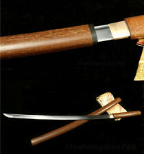39'  DAMASCUS  FOLDED STEEL FULL TANG BLADE HANDMADE TANG SWORD CAN CUT BAMBOO