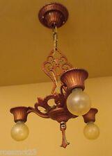 Vintage Lighting 1930s Virden bedroom/foyer chandelier