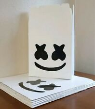 10 DJ MarshMello Party Favor Box Loot Bags Treat Bags Birthday Party Supplies
