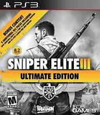 PS3 ACTION-SNIPER ELITE III ULTIMATE EDITION  PS3 NEW