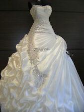 2017 New White/Ivory Bridal Gown Wedding Dress Custom Size 4-6-8-10-12-14-16-18