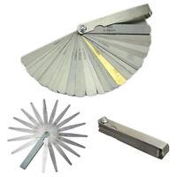 32Blatt Fühlerlehre Abstandslehre Blattlehre Ventillehre Spaltmas 0.04mm-0.88mm