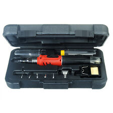 10 in 1 Professional Butane Gas Soldering Iron Kit Welding Kit Torch HS-1115K US
