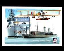 "Gibraltar - ""WAR SHIPS ~ FLY NAVY ~ CENTENARY OF NAVAL AVIATION"" MNH MS 2009 !"