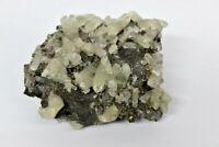Mineral Kanonespat mit Bleiglanz Pyrit  Ellington Missouri USA  315 Gramm