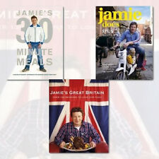 Jamie's Britain Cookery Collection 3 Books set.