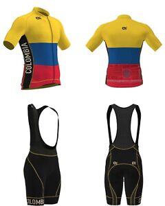 Alé Cycling PRR Colombia Jersey & Bibshort Kit - Men's Large