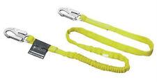 6' Miller Shock Absorbing Lanyard Polyester 1 Leg Locking Snap Hook 216WLS/6FTYL