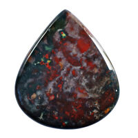 Gorgeous Natural Bloodstone Cabochon Loose Semi Precious Gemstone Suppliers Calibrated AG-4518 Size 53X25X5 MM Pendant Jewelry Gemstone