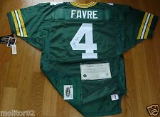 GREEN BAY PACKERS BRETT FAVRE 4 AUTOGRAPHED WILSON PRO LINE AUTHENTIC JERSEY COA