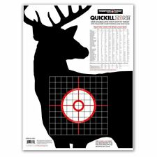 """Thompson Target   Deer Silhouette Quick Kill Zone 19""""x25"""" Paper Shooting Targets"""
