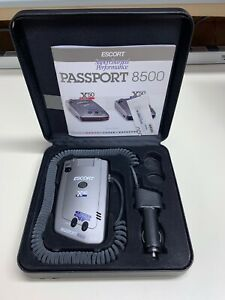 ESCORT PASSPORT 8500 X50 RADAR DETECTOR W/ STOW BOX *FULLY FUNCTIONAL*